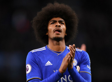 Hamza Choudhury has been fined by the Football Association.