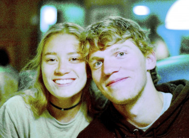 Riley Howell (right) was killed after tackling the shooter.