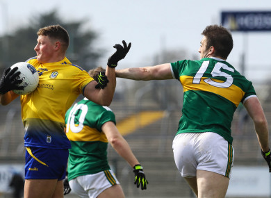 Conor Cox in action against Kerry during the league.