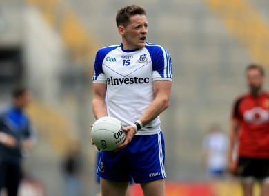 Conor McManus and his Monaghan team-mates will have a keen interest in tomorrow's draw.