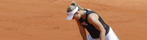 Grand Slam dream dies for fifth seed Kerber after shock first round French Open exit