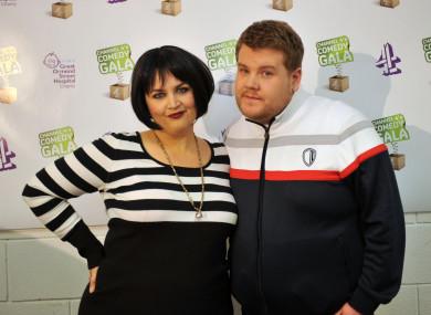 Ruth Jones and James Corden, creators of Gavin and Stacey.