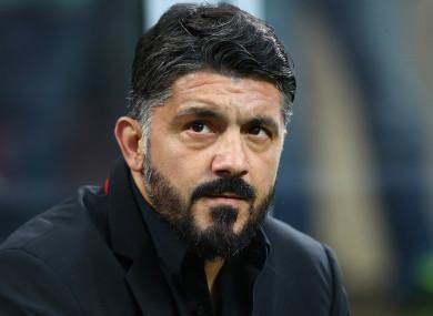 Gennaro Gattuso has exited AC Milan