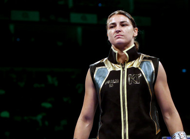 Katie Taylor fights for all the belts this Saturday night, and she has occasionally allowed herself to imagine what it would be like to create this piece of Irish boxing history.