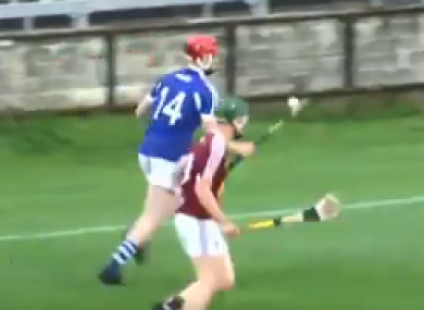 James Duggan fired home an incredibly skillful individual goal in Laois' 33-point win.
