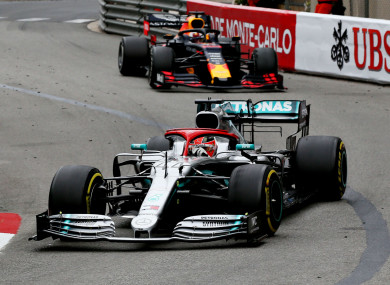 Lewis Hamilton won the Monaco Grand Prix