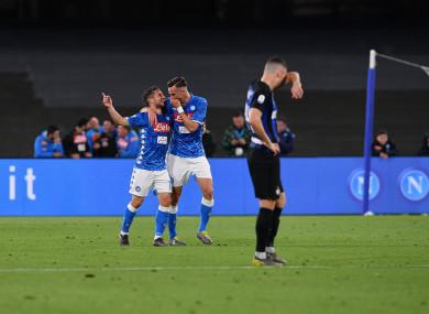 Ruiz helped Napoli outclass Inter on Sunday night.