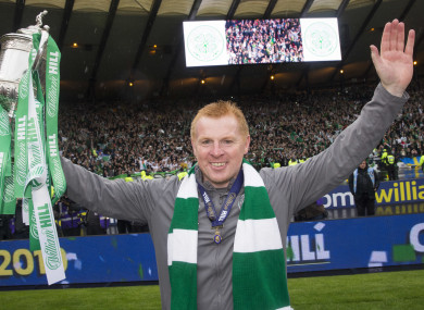 Celtic manager, Neil Lennon.