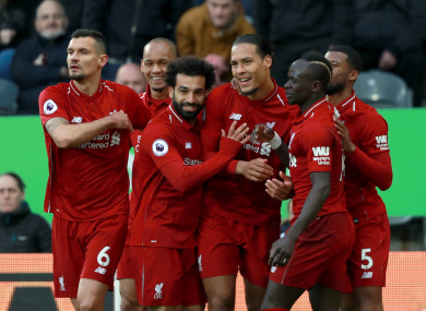 40d1c95b7 Liverpool edge 5-goal thriller but victory comes at a cost · The42