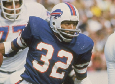 hot sale online de51c 41717 OJ Simpson's Bills jersey assigned for first time in 42 ...