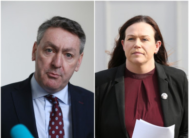 FF's Billy Kelleher and SF's Louise O'Reilly have raised concerns