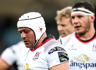 Rory Best's Ulster career ended in disappointing fashion.