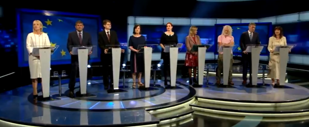 The debate on Sunday evening