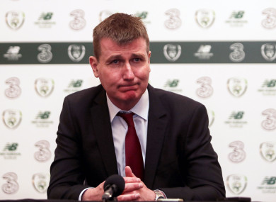 Stephen Kenny (file pic).