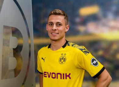Thorgan Hazard has signed for Borussia Dortmund.