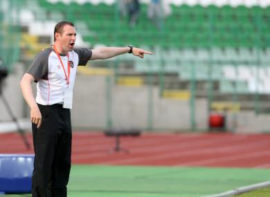 Ireland U19 manager, Tom Mohan.