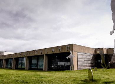 A file pic of the FAI's headquarters in Abbotstown.