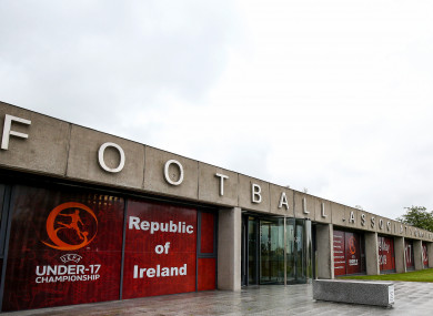 FAI headquarters in Abbotstown.