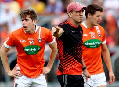 Andrew Murnin is one of the three changes that have been made to the Armagh team.