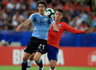 Uruguay striker Edinson Cavani was on the scoresheet last night.