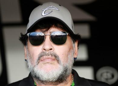 Diego Maradona has left Dorados in Mexico's second division