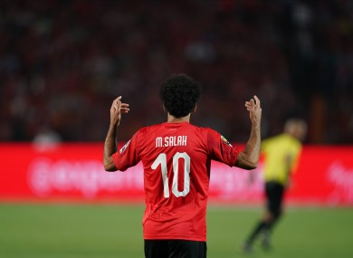 Salah sent the home fans into a frenzy with his second-half goal.