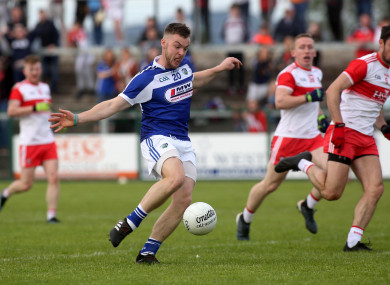 Eoin Lowry's goal was crucial for Laois.