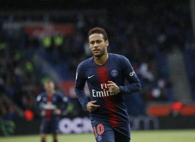 PSG's Neymar (file pic).