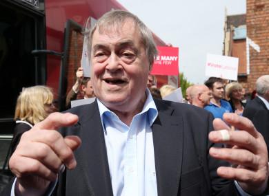John Prescott in May 2017