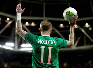 James McClean.