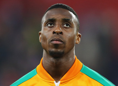 Ivory Coast forward Jonathan Kodjia.