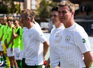 Ireland U21 manager, Stephen Kenny.