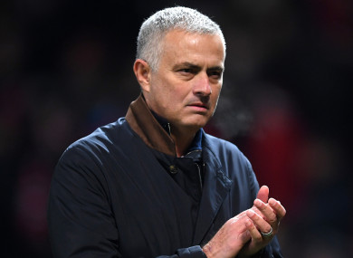 Jose Mourinho has been out of work since December.