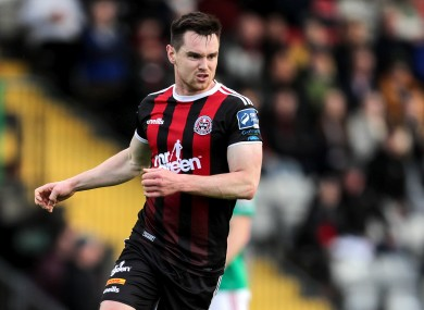 Michael Barker scored a late winner for Bohs.
