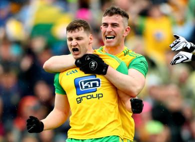 Jamie Brennan scored Donegal's goal.