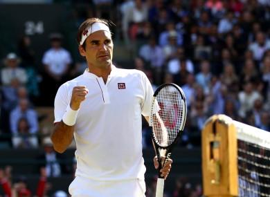 Roger Federer has been handed a Wimbledon boost.