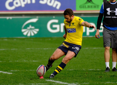 Greig Laidlaw was in fine form for Clermont (file pic).