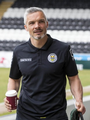 Goodwin before his final game as a St Mirren player back in 2016.