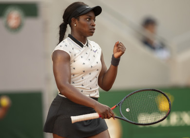 Stephens is currently ranked seventh in the world.
