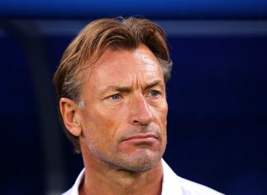 Morocco coach Herve Renard (file pic).