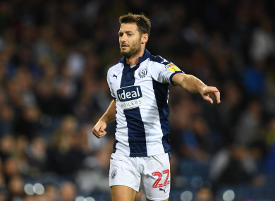 Wes spent one season with West Brom.