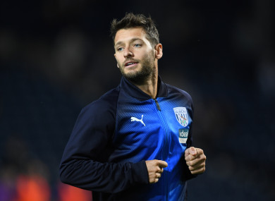 Wes Hoolahan spent last season with West Bromwich Albion.