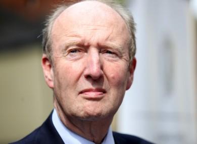 Sports Minister Shane Ross