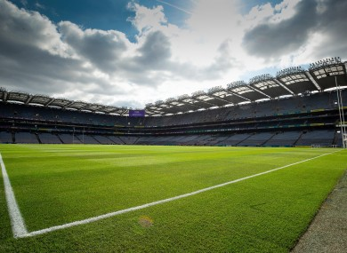 Croke Park will host the semi-finals in late July.