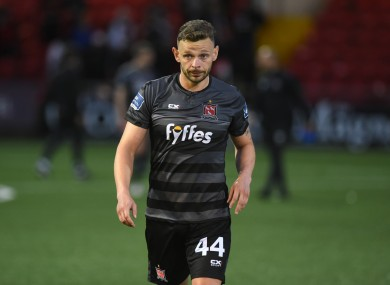 Andy Boyle has made two appearances since re-signing for Dundalk.