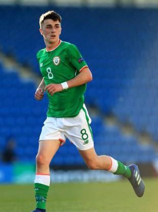 Ireland's Barry Coffey (file pic).
