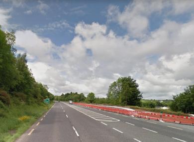 N25 road at Glenmore, Co Kilkenny
