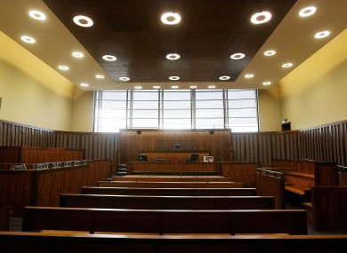 File photo: the Criminal Courts of Justice on Parkgate Street, Dublin.