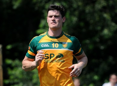 Diarmuid Connolly in action for Donegal Boston last summer.