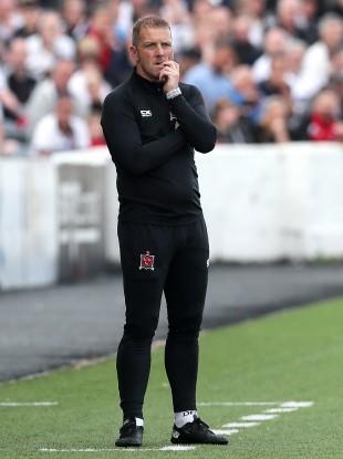 Lilywhites boss Vinny Perth.